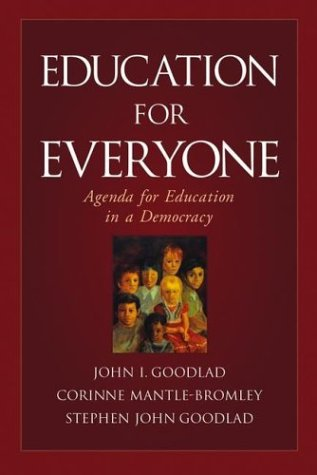 Education for Everyone Agenda for Education in a Democracy  2004 edition cover