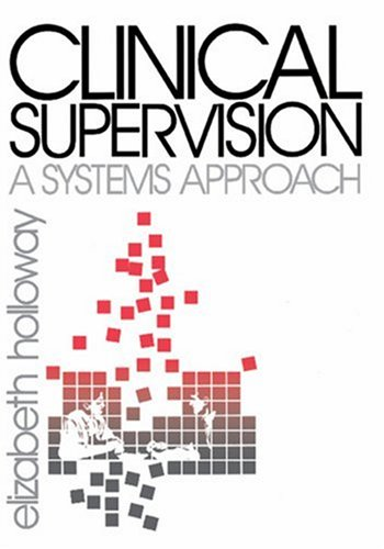 Clinical Supervision A Systems Approach  1995 edition cover
