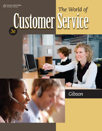 World of Customer Service  3rd 2012 edition cover