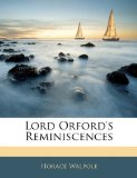 Lord Orford's Reminiscences  N/A edition cover