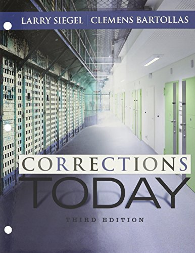 CORRECTIONS TODAY-W/ACCESS (6 MONTH))   N/A 9781305814240 Front Cover