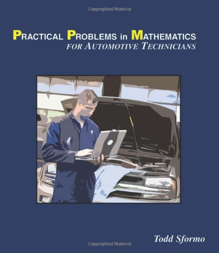 Practical Problems in Mathematics For Automotive Technicians 7th 2009 edition cover