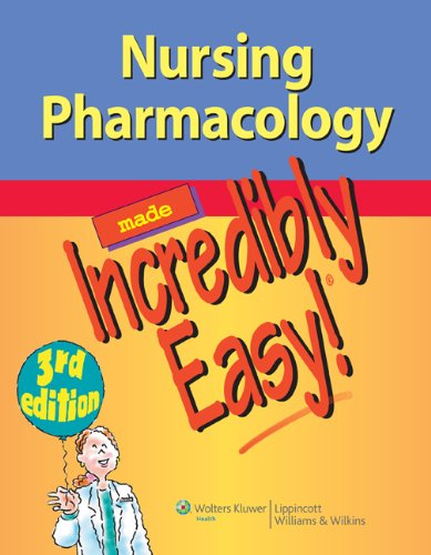 Nursing Pharmacology  3rd 2013 (Revised) 9781451146240 Front Cover