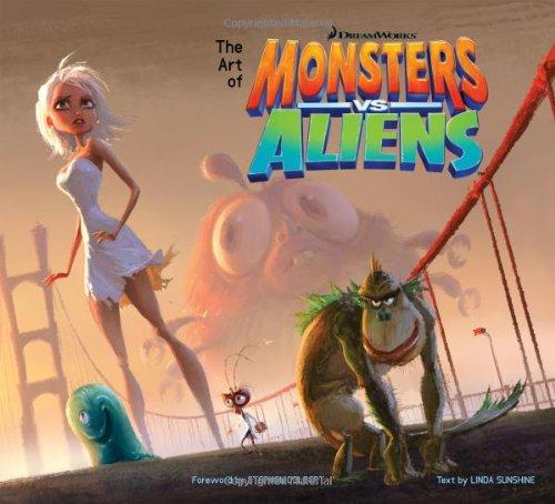 Art of Monsters vs. Aliens  Movie Tie-In 9781557048240 Front Cover