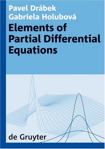 Elements of Partial Differential Equations   2007 9783110191240 Front Cover
