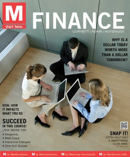 M: Finance   2012 edition cover
