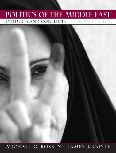 Politics of the Middle East Cultures and Conflicts 2nd 2008 edition cover