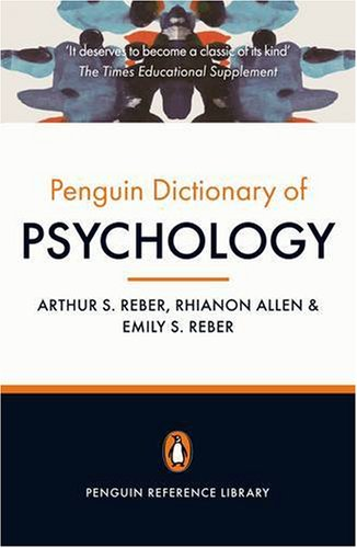 Penguin Dictionary of Psychology  4th 2009 edition cover