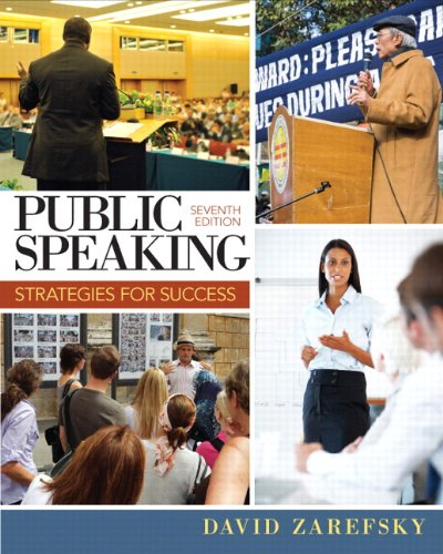 Public Speaking + New Mycommunicationlab With Etext Access Card:   2013 edition cover
