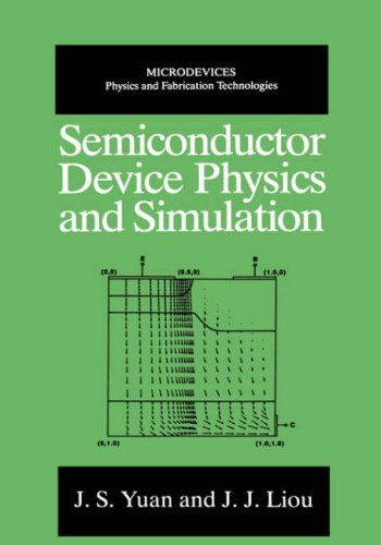 Semiconductor Device Physics and Simulation   1998 9780306457241 Front Cover