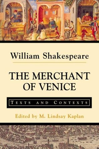 Merchant of Venice Texts and Contexts  2002 edition cover