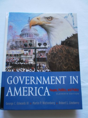 Government in America: People, Politics, and Policy  2003 edition cover
