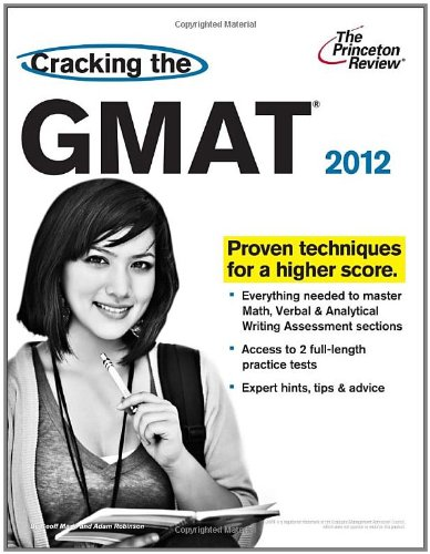 Cracking the GMAT, 2012 Edition  N/A 9780375428241 Front Cover
