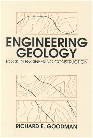 Engineering Geology Rock in Engineering Construction 1st 1993 edition cover