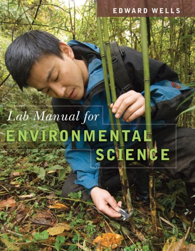 Lab Manual for Environmental Science   2009 edition cover