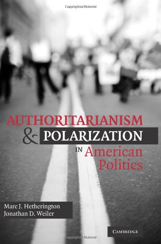 Authoritarianism and Polarization in American Politics   2009 edition cover
