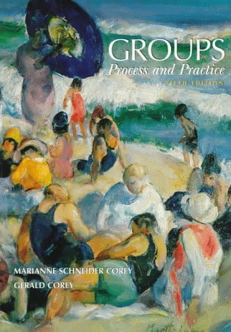 Groups Process and Practice 5th 1997 edition cover