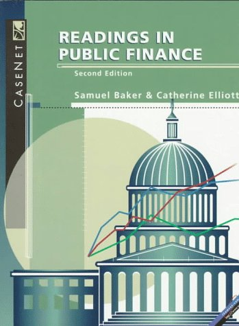 Readings in Public Finance  2nd 1997 edition cover