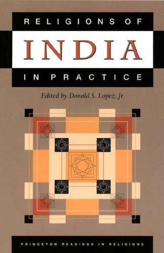 Religions of India in Practice   1995 9780691043241 Front Cover