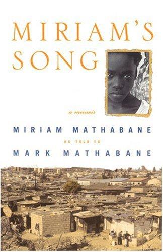 Miriam's Song   2001 (Reprint) edition cover