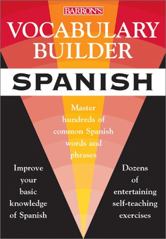 Spanish Master Hundreds of Common German Words and Phrases  2001 9780764118241 Front Cover