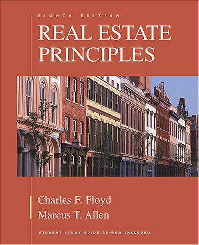 Real Estate Principles 8th 2005 (Revised) edition cover