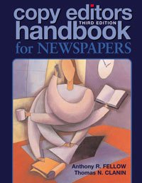 Copy Editor's Handbook for Newspapers 3rd 2007 edition cover