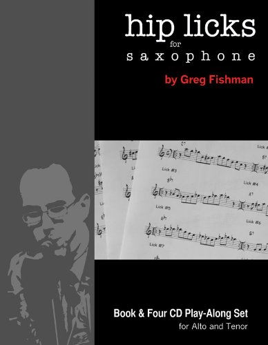 HIP LICKS FOR SAXOPHONE        N/A edition cover