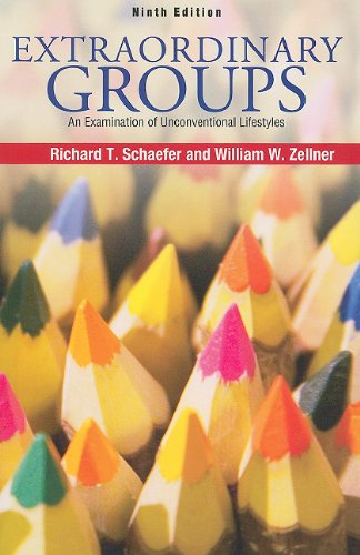 Extraordinary Groups An Examination of Unconventional Lifestyles 9th 2010 edition cover