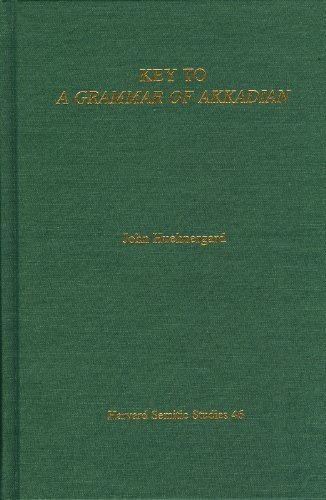 Key to a Grammar of Akkadian 2nd 2005 edition cover