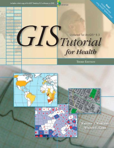 GIS Tutorial for Health  3rd 2009 edition cover