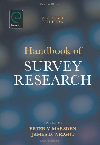 Handbook of Survey Research  2nd 2010 edition cover