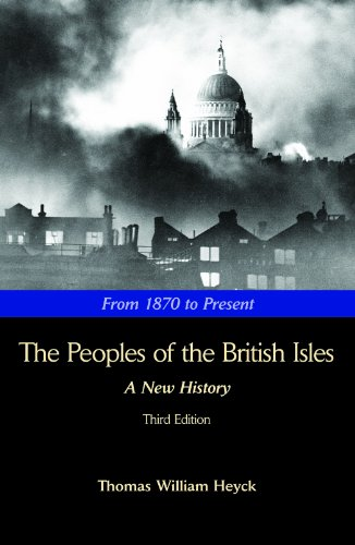 Peoples of the British Isles 3E : From 1870 to Present 3rd 2008 edition cover