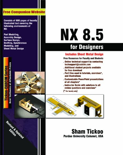 NX 8.5 FOR DESIGNERS           N/A edition cover