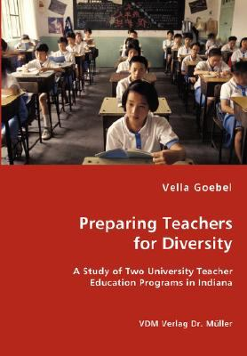 Preparing Teachers for Diversity N/A 9783836456241 Front Cover