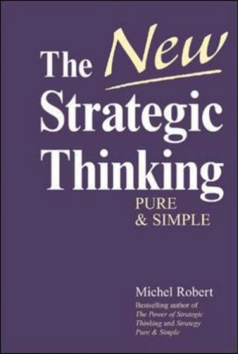 New Strategic Thinking Pure and Simple   2005 edition cover
