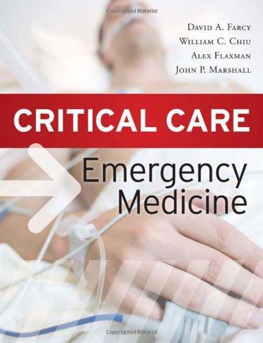 Critical Care Emergency Medicine   2012 edition cover