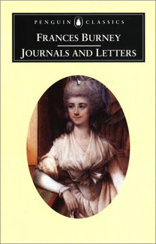 Journals and Letters of Frances Burney   2001 9780140436242 Front Cover