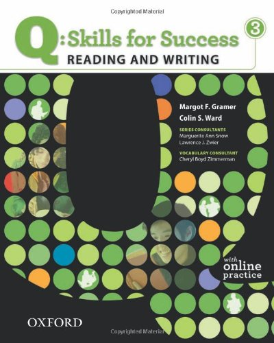 Q: Skills for Success - Reading and Writing, Level 3   2011 (Student Manual, Study Guide, etc.) edition cover