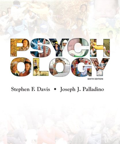 Psychology  6th 2010 edition cover