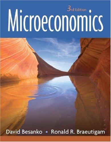 Microeconomics  3rd 2008 edition cover
