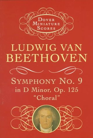 Symphony No. 9 in D Minor, Op. 125  N/A edition cover