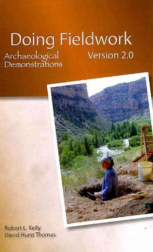 CD-ROM: Doing Fieldwork: Archaeological Excavations  5th 2011 edition cover