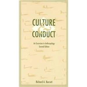 Culture and Conduct An Excursion in Anthropology 2nd 1991 edition cover