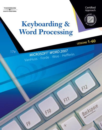 Keyboarding and Word Processing  17th 2008 (Revised) 9780538730242 Front Cover