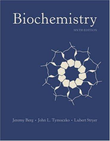 Biochemistry  6th 2006 edition cover