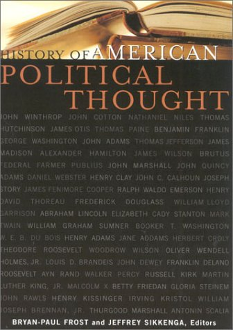 History of American Political Thought   2003 edition cover