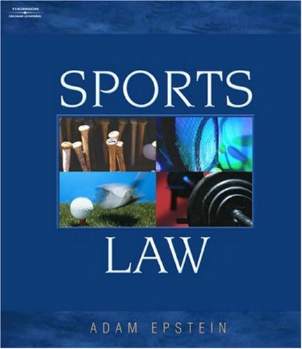Sports Law   2003 edition cover