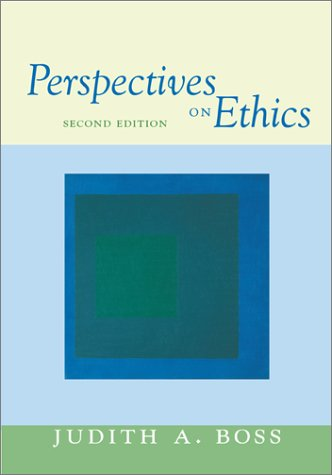 Perspectives on Ethics  2nd 2003 edition cover