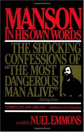 Manson in His Own Words  N/A edition cover